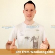 Thank you Ian Ben Woolloongabba for your carpet cleaning photo review