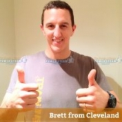 Thank you Brett from Cleveland for your bond cleaning photo review