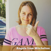 Angela from Mitchelton (Brisbane)