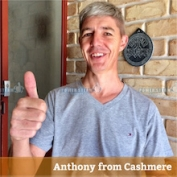 Anthony from Cashmere.