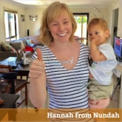 Hannah from Nundah (Brisbane).