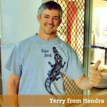 Thank You Terry From Hendra For Your Carpet Cleaning Photo Review