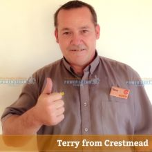 Thank you Terry from Crestmead for your bond cleaning photo review.