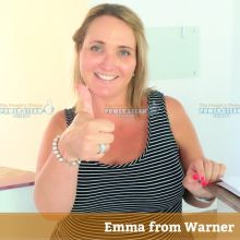 Thank you Emma from Warner for Bond and Carpet Cleaning photo review