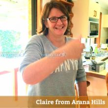 ★★★★★ Thank You Claire From Arana Hills (Brisbane) For Carpet Cleaning Review.