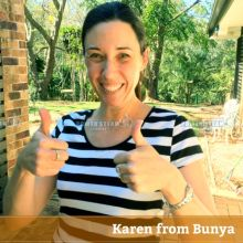 Thank you Karen from Bunya (Brisbane) for Carpet Cleaning review