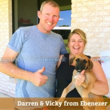 Thank you Darren and Vicky from Ebenezer for Carpet Cleaning review