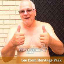 Thank You Lee From Heritage Park For Carpet Cleaning Review