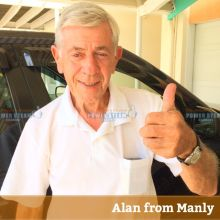 Thank You Alan From Manly For Carpet Cleaning Review.