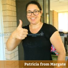 Thank you Patricia from Margate (Brisbane) for Carpet Cleaning review