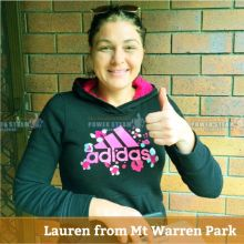 Thank You Lauren From Mt Warren Park (Brisbane) For Carpet Cleaning Review