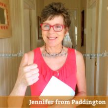 Thank you Jennifer from Paddington for Carpet Cleaning review