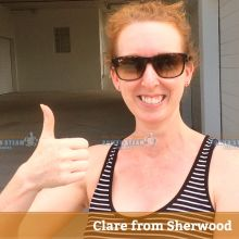 Thank you Clare from Sherwood for Bond and Carpet Cleaning review