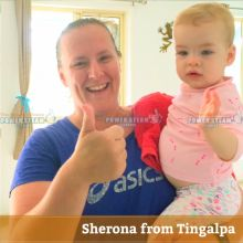 Thank You Sherona From Tingalpa For Carpet Cleaning Review.