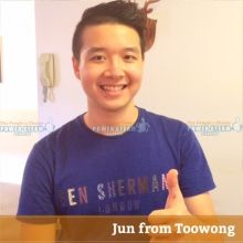 Thank you Jun from Toowong for Carpet and Upholstery Cleaning Review