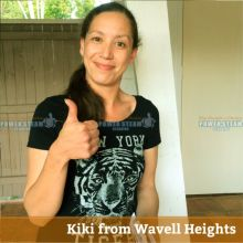 Thank You Kiki From Wavell Heights (Brisbane) For Carpet Cleaning Review.