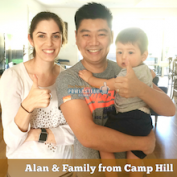 Alan & Family from Camp Hill Brisbane