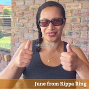 June from Kippa Ring Brisbane