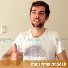 Thank you Trent from Nundah for your carpet cleaning photo review