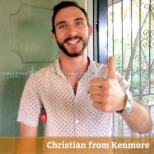 Thank You Christian From Kenmore For Bond Cleaning Review
