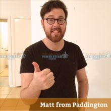Thank You Matt From Paddington For Bond And Carpet Cleaning Review