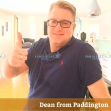 Thank You Dean From Paddington For Carpet Cleaning Review