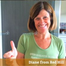 Thank you Diane from Red Hill for Carpet Cleaning review