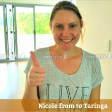 Thank you Nicole from Taringa (Brisbane) for Carpet Cleaning review