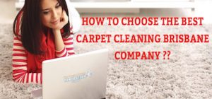 how to choose the best carpet cleaning brisbane